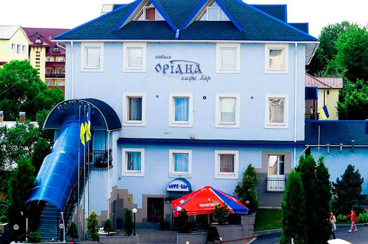 Отель Ориана